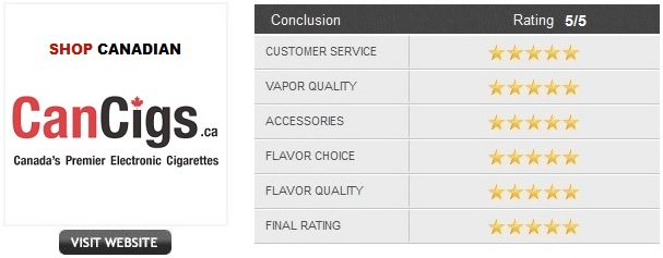 e-Cigarette Canada Reviews
