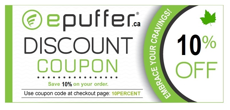 ePuffer Coupon Code Canada